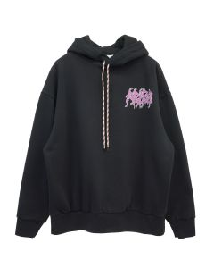 Aries FRENCH MONSTER HOODIE / BLACK