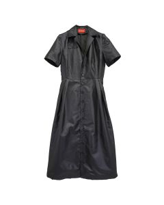 ART SCHOOL NURSE DRESS SKEW 2 / BLACK