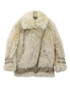 [お問い合わせ商品] Acne Studios VELOCITE SHEARLING / WHEAT BEIGE-CREAM BEIGE