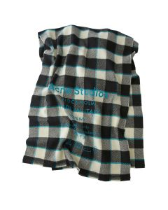 [お問い合わせ商品] Acne Studios CASSIAR CHECK / BLACK-WHITE