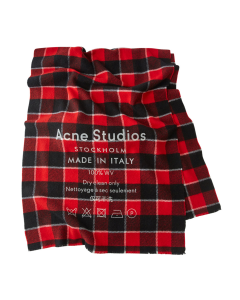 [お問い合わせ商品] Acne Studios CASSIAR CHECK / RED-BLACK