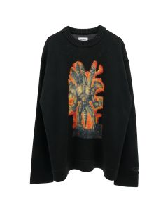 Acne Studios CA-MN-KNIT000001 / BLACK-MULTI