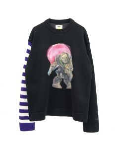 [お問い合わせ商品] Acne Studios KONOR MONSTER ZOMBIE / PURPLE-MULTI