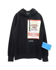 BOTTER HOODY WITH BOTTER BADGE / BLACK