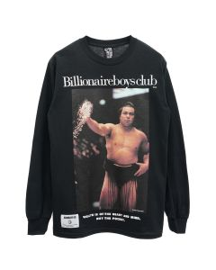 BILLIONAIRE BOYS CLUB x CHIYONOFUJI L/S T-SHIRT / BLACK