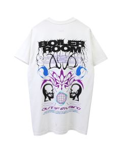 BOILER ROOM MIND CONTROL TEE / WHITE