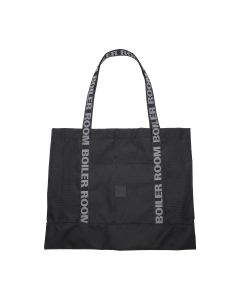 BOILER ROOM BOILER RECORD TOTE / BLACK