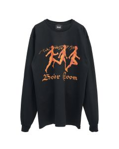 BOILER ROOM RUNNERS L/S TEE / BLACK