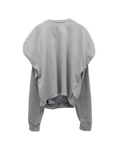 BIANCA SAUNDERS SHRUG JUMPER / GREY