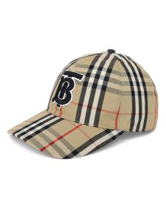 BURBERRY A:MH TB BASEBALL CAP CHEC / A7028 : ARCHIVE BEIGE IP CHK