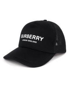 BURBERRY A:MH TRUCKER CAP / A1189 : BLACK