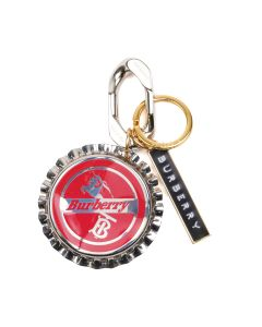 BURBERRY A:LS BEER CAP TB KNIGHT THR / A4587 : RED