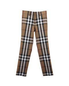 BURBERRY M CASUAL TROUSERS / A8492 : BIRTH BROWN CHECK