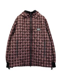 BURBERRY M QUILTS / A8702 : BRIGHT RED CHECK