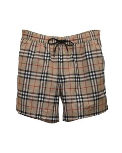 BURBERRY M SWIM SHORTS / A7028 : ARCHIVE BEIGE IP CHK