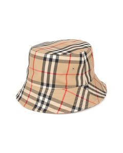 BURBERRY W BUCKET HAT / A7026 : ARCHIVE BEIGE