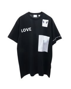 BURBERRY W JWEAR T SHIRT / A1189 : BLACK