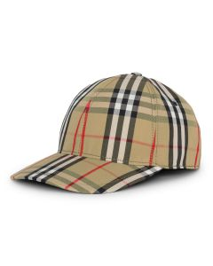 BURBERRY W CAP / A2219 : ANTIQUE YEL IP CHK