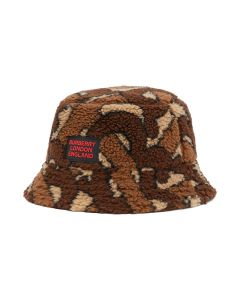 BURBERRY W BUCKET HAT / A7436 : BRIDLE BROWN IP PTTN