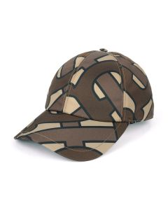 BURBERRY W CAP / A7436 : BRIDLE BROWN IP PTTN