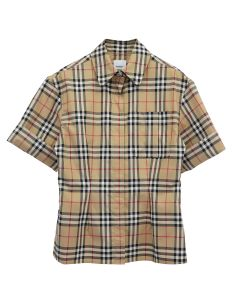 BURBERRY W SHIRT / A7028 : ARCHIVE BEIGE IP CHK