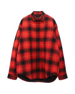 [お問い合わせ商品] BALENCIAGA TGM10/SHIRT / 6167 : RED-BLACK