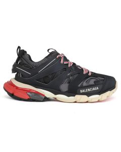 [お問い合わせ商品] BALENCIAGA W1GB6/FABRIC SNEAKER RUBBER / 1002 : BLACK-GREY