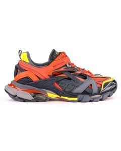 BALENCIAGA W2GN3/FABRIC SNEAKER RUBBER SOLE / 7560 : ORANGE-BLACK