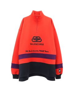 [お問い合わせ商品] BALENCIAGA TFV39/SWEATER / 6562 : RED-PURPLE