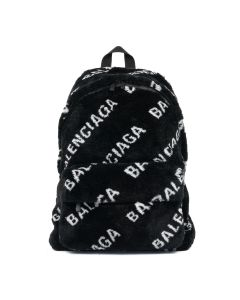 [お問い合わせ商品] BALENCIAGA HSHCN/BACKPACK / 1090 : BLACK-L WHITE