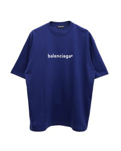 BALENCIAGA TIV54/T-SHIRT / 1195 : PACIFIC BLUE