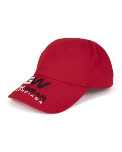 BALENCIAGA 410B2/HAT GYM CAP / 6400 : RED