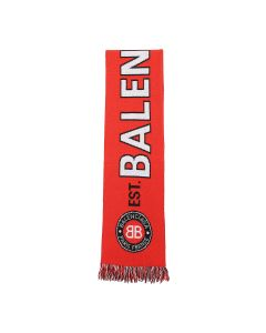 BALENCIAGA 484B0/SCARF SOCCER KNITTED / 6400 : RED
