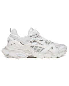 [お問い合わせ商品] BALENCIAGA W2GN1/FABRIC SNEAKER RUBBER SOLE / 9000 : WHITE