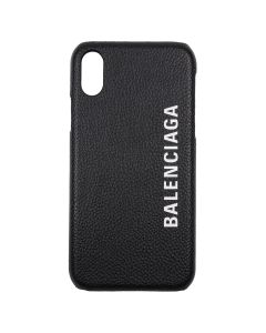 BALENCIAGA 1IZD0/COVER FOR PHONE / 1065 : BLACK-L WHITE
