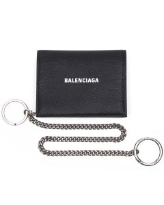 [お問い合わせ商品] BALENCIAGA 1IZ43/WALLET+CHAIN HANDL / 1090 : BLACK-L WHITE