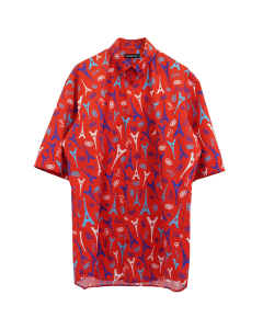[お問い合わせ商品] BALENCIAGA TGL90/SHIRT / 6400 : RED
