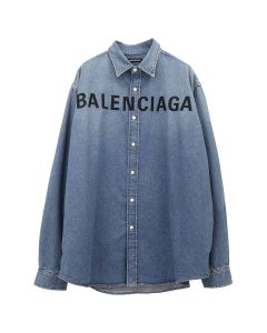[お問い合わせ商品] BALENCIAGA TYE24/SHIRT / 4065 : LIGHT VINTAGE BLUE