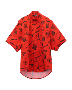 [お問い合わせ商品] BALENCIAGA TGLC5/SHIRT / 6400 : RED