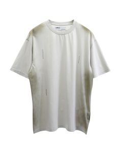 C2H4 SPRAYED T-SHIRT / LIGHT GRAY