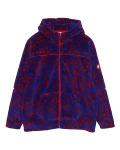 C.E NOISE FLEECE ZIP HOODY / RED