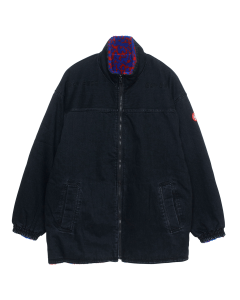 C.E DENIM FLEECE REV JACKET / BLACK