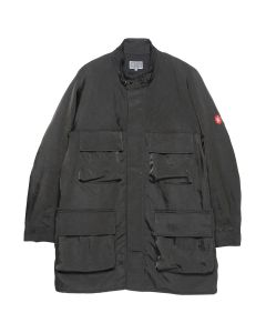 C.E MID 4 POCKET ZIP COAT / CHARCOAL