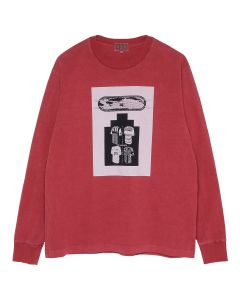 C.E OVERDYE UNIFORM CHOICE LONG SLEEVE T / RED