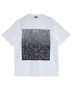 C.E PIXLATED NOISE T / WHITE