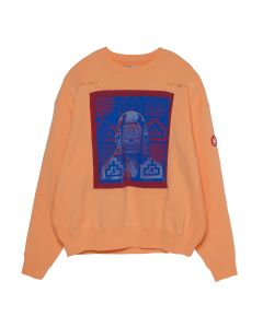 C.E DIAL CUT CREW NECK / ORANGE