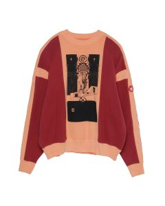 C.E OVERDYE MD GRAVITYPLUS CREW NECK / ORANGE