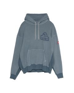 C.E OVERDYE ALLIGATOR HEAVY HOODY / GREY