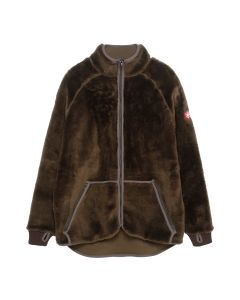 C.E FURRY FLEECE LIGHT JACKET / KHAKI