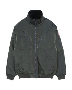 C.E LINED UTILTY ZIP JACKET / CHARCOAL